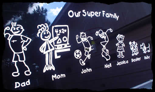 family sticker