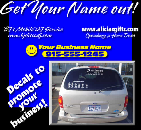 wholesale decals for business